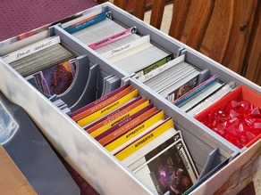 Ascension Box Organizer with Rails