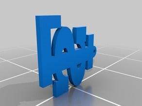 La Salle Logo 3D