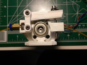 cOssel Bowden Extruder - Geared Stepper - v2