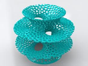 Voronoi Costa Vase