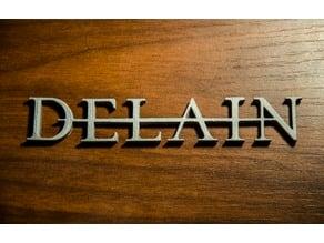 Delain [logo][keychain]
