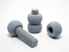 Yet another knurling bolt and nut