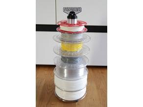 52 mm dia. Filament stand / organiser / spool holder