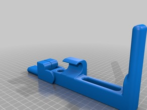 Doob tube arbor press bracket