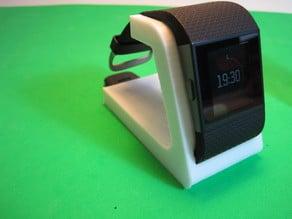 Fitbit Surge Desktop Stand Improved