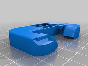 Prusa i3 Mk2 Fan Shroud for Silicone Sock