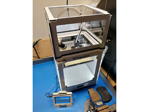 Ultimaker enclosure extension & USB camera mount