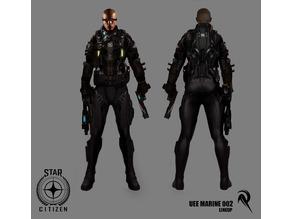 Star Citizen UEE Marine 1/100 Scale