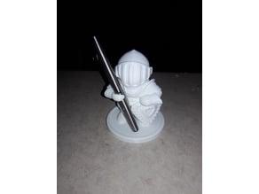 Knight Spear Pen Holder