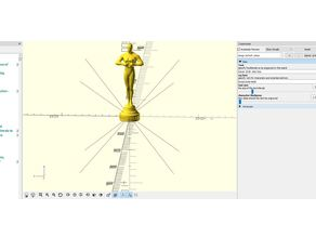 OSCAR-Statue with customizable text engraved
