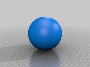 Lithophane / 3d model of Uranus