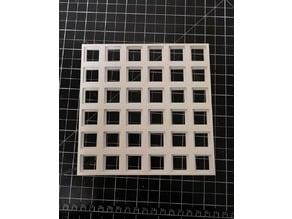 Sample holder frame + sample