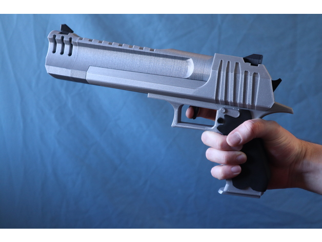 New Hand Cannon Gun Fortnite Fortnite Hand Cannon W Blowback And Shell Ejection By Raygunproject Thingiverse