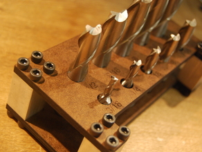 End Mill Set Holder