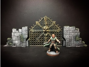 Delving Decor: Chaos Gate (28mm/Heroic scale)