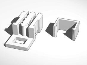 Mostly Printed CNC Corner Block Belt Clip v2