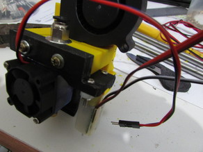 Extruder Mount bltouch