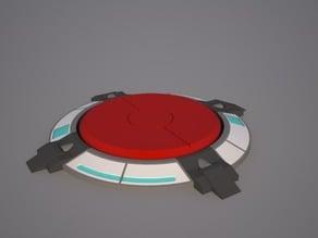 Portal super button coaster