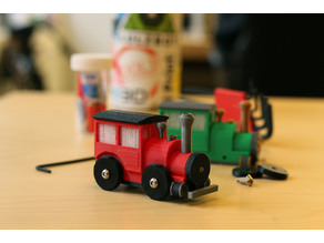 Multi-Color Brio Train