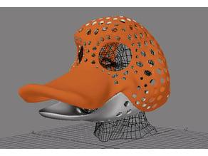 Fursuit- or puppet-head base - version 62 - duck