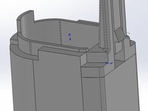 Extended Grip Cap for Krytac Vector