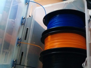 Airtight Filament delivery system (almost)
