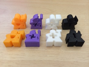 Meeples for Lords of Waterdeep