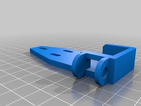 Am8 cable chain hotbed mount v 1.1
