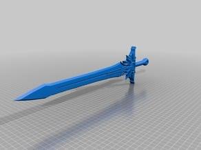 Diablo Tyrael sword