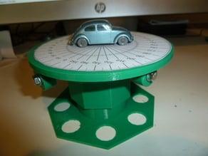 Simple 3D Scanning Platform