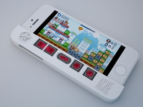 PizzaBoy Gamepad Case for iPhone 5 (v1.1)
