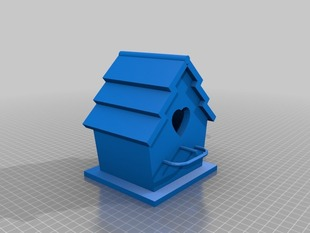 Hearty Bird House