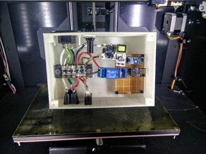 Case for a Mains Voltage Relay Test Jig