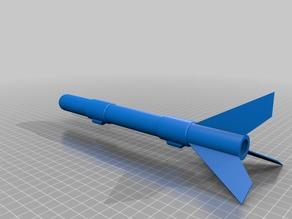 ZF - 2 A 100% 3D Printed Rocket