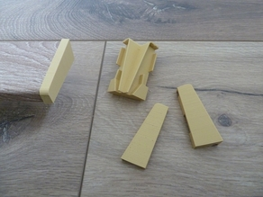 Logoclic 58C skirtings caps