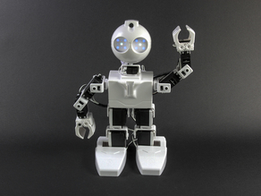 JD Humanoid built with EZ-Bits that clip together