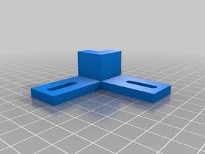 Small CNC corner bracket