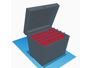 Concept - A4 File Divider with lid - large print 320x320mm