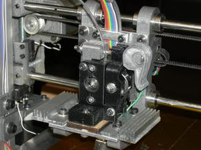 Quick change MakerGear extruder body