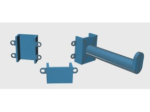 """clamp system for 1 1/4 """" wide square desk leg"""