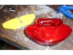 Adapter Plate Xtech light on Azur Pannier Rack