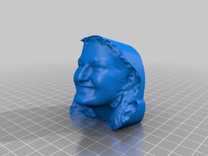 My MakerBot 3D Portrait from Jan 8, 2013