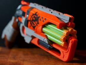 Nerf Hammershot 8-Shot Cylinder - PETG Version