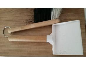 mini dustpan for 20mm/22mm broomstick handle