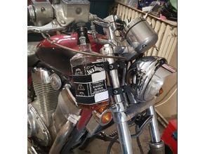 Support bouteille pour moto