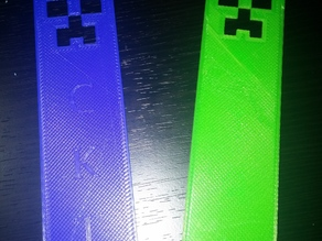 Minecraft Creeper Bookmark