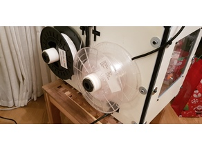 Wanhao Duplicator 4 (Possibly others) Spool Guide Addon