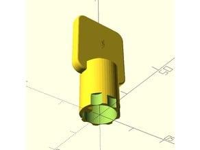 Tubular Key (Customizable)