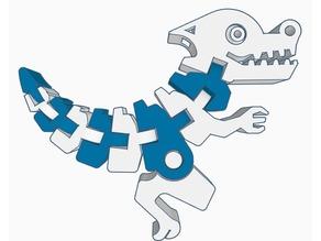Flexi Dino Keychain Remix