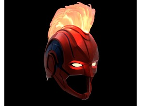 Captain Marvel Helmet